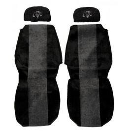 F-CORE Potahy na sedadla PS13, šedé