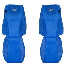F-CORE Potahy na sedadla FX07, modré
