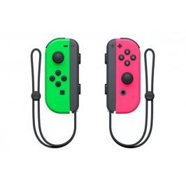 Nintendo Switch Joy-Con (pár) zelený/růžový / Switch