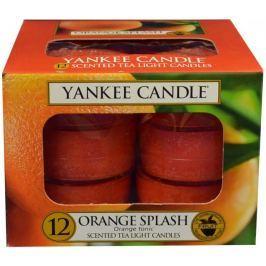 Yankee Candle Čajové svíčky Orange Splash 12x 9,8 g