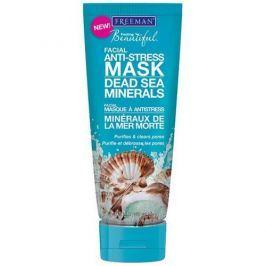 Freeman Antistresová pleťová maska s minerály z Mrtvého moře (Facial Anti-Stress Mask Dead Sea Minerals) (Ob