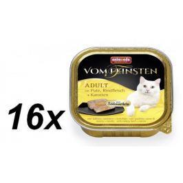 Animonda V.Feinsten CORE krůta, hovězí maso + mrkev pro kočky 16 x 100g