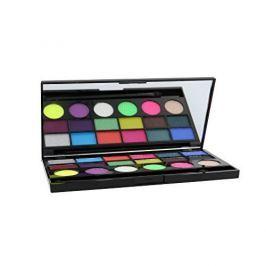 Makeup Revolution Limitovaná paletka 18 očních stínů Colour Chaos (London Salvation Palette) 13 g