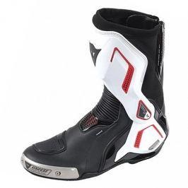 Dainese boty TORQUE D1 AIR vel.44 černá/bílá/červená (lava) (pár)