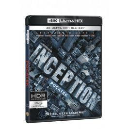 Počátek  (3 disky) - Blu-ray + 4K ULTRA HD