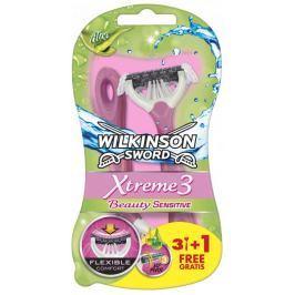 Wilkinson Sword Xtreme3 Beauty Sensitive Jednorázový holicí strojek 4ks