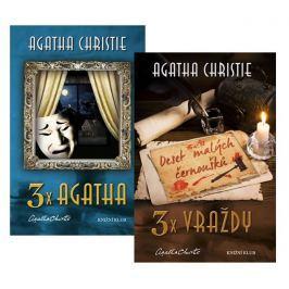 Christie Agatha: Komplet 3x vraždy + 3x Agatha