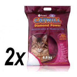 Tommi Catwill silikátová podestýlka double MAXI pack 2 x 6,8kg