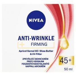 Nivea Zpevňující denní krém proti vráskám 45+ (Anti-Wrinkle + Firming) 50 ml