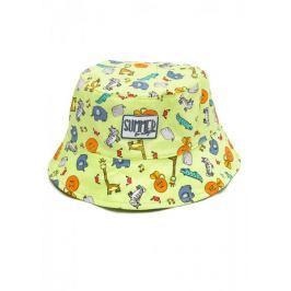 Losan dívčí klobouk 68 zelená