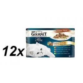Gourmet Perle masové duo multibalení 12 x ( 4 x 85g )