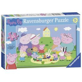 Ravensburger Peppa pig Na hřišti 35 dílků