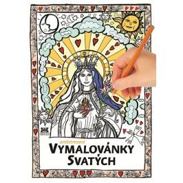 Lukášová Dora: Antistresové vymalovánky svatých