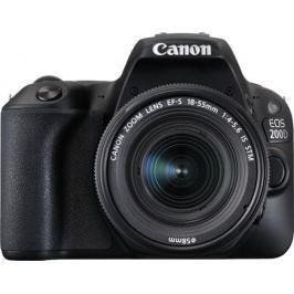 Canon EOS 200D + 18-55 IS STM Black (2250C002)