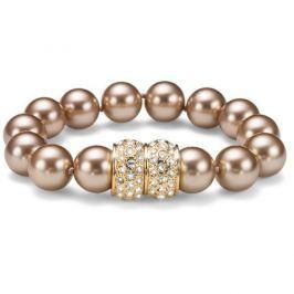 Oliver Weber Luxusní náramek z perel Swarovski Lucent 32162 BEI