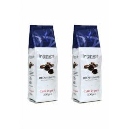Intenso Decaffeinato zrnková káva 2x500g