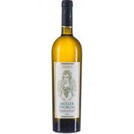 Johann W Müller Thurgau 2014, kabinetní víno, Pod Skršínským vrchem balení - 6 ks