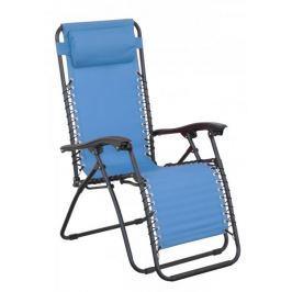 Doppler Relaxační křeslo, modrá - rozbaleno