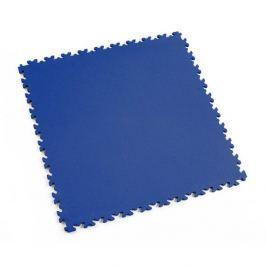 Fortelock Modrá plastová vinylová dlaždice Light 2060 (kůže) - 51 x 51 x 0,7 cm