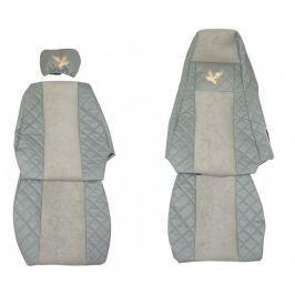 F-CORE Potahy na sedadla FX03, šedé