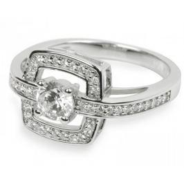 Silver Cat Stříbrný prsten s krystaly SC046 (Obvod 52 mm) stříbro 925/1000