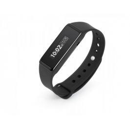 Technaxx fitness náramek Touch, voděodolný, Bluetooth 4.0, Android/iOS, černý (TX-72)
