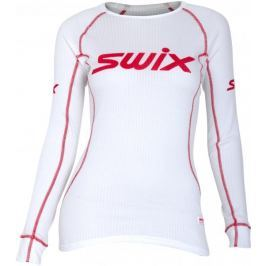 Swix RaceX triko dl.rukáv dám. bílá M - rozbaleno