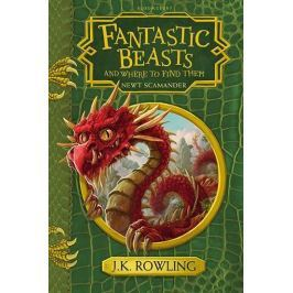 Rowlingová Joanne Kathleen: Fantastic Beasts and Where to Find Them - Hogwarts Library Book