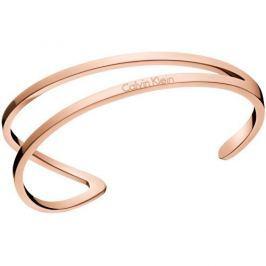 Calvin Klein Luxusní bronzový náramek Outline KJ6VPF1001 (Průměr 6,2)