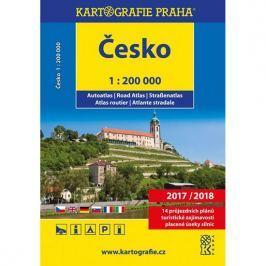 Česko - autoatlas/1:200 000, 2017/2018