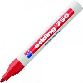 Značkovač EDDING 750 červený lakový