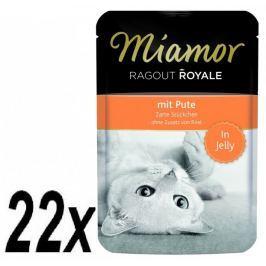 Finnern Kapsička Miamor Ragout Royale krůta v želé 22 x 100g