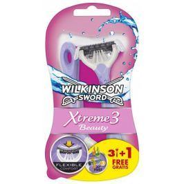 Wilkinson Sword Xtreme3 Beauty Jednorázový holicí strojek 4ks