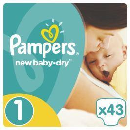 Pampers New Baby 1 Newborn - 43 ks