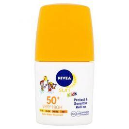 Nivea Opalovací mléko pro děti SPF 50+ (Sun Kids Protect & Sensitive Roll-On) 50 ml