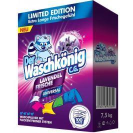 Waschkonig Universal Lavendel prací prášek 7,5 kg (100 praní)