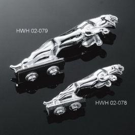 Highway-Hawk soška na blatník PANTHER (panter), 13cm, chrom