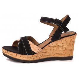 s.Oliver dámské sandály 37 černá