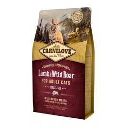 Carnilove Lamb & Wild Boar for Adult Cats – Sterilised 2 kg