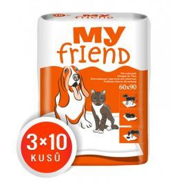 MY FRIEND podložky 90x60 3 x 10 ks