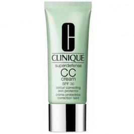 Clinique Ochranný CC krém Superdefense SPF 30 (CC Cream Colour Correcting Skin Protector) 40 ml (Odstín Light