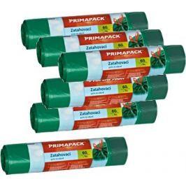 Prima Pack 6x Zatahovací pytle na odpad 60l/10ks