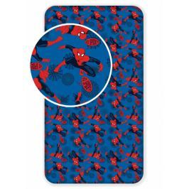 Jerry Fabrics Bavlněné prostěradlo Spiderman 2017 90x200 cm