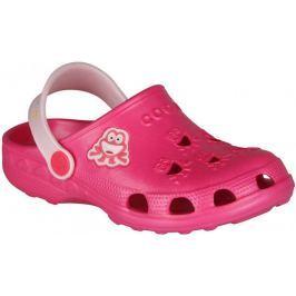 Coqui dívčí sandály Little Frogg 23,5 růžová
