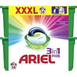 Ariel Color 3v1 gelové kapsle 56 ks