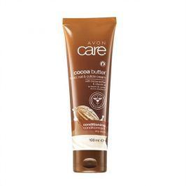 Avon Vyživující krém na ruce a nehty s kakaovým máslem a vitaminem E Care (Hand Nail Cuticle Cream) 100 m