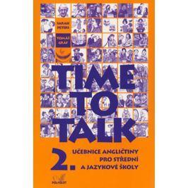 Peters Sarah, Gráf Tomáš: Time to talk 2 - kniha pro studenty