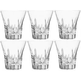 RCR Crystal Fluente sklenice na whiskey 310 ml, 6 ks