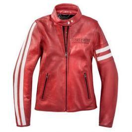 Dainese bunda dámská FRECCIA72 LADY (Settantadue) vel.40 červená/bílá, kůže