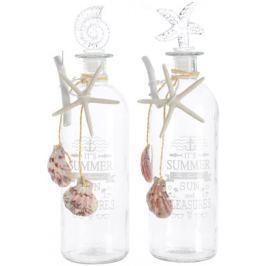 Kaemingk Dekorativní láhev s uzávěrem 2 ks